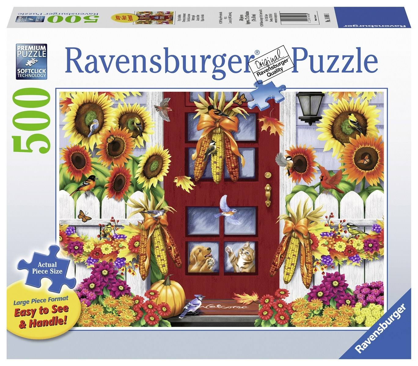 Ravensburger Autumn Birds Jigsaw Puzzle - 500pcs