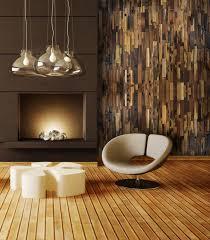 Vertical Appeal Reclaimed Wood Livingroom