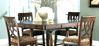 North Shore Dining Set Chairs Signature 7 Pertaining To Room Ashley Furniture Round Table