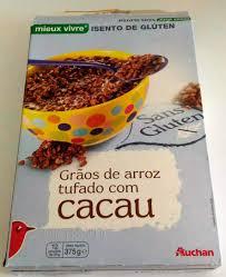 cuisine sans gluten riz soufflé cacao sans gluten auchan 375 g
