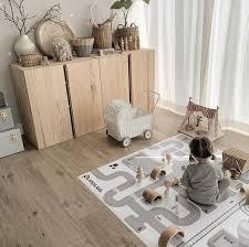unsere spielecke im wohnzimmer
