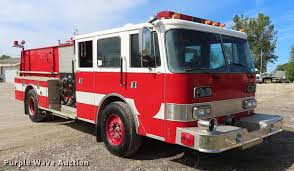100 Emergency Truck 1989 Pierce Arrow E4854 Fire Truck Item EI9999 SOLD Nov