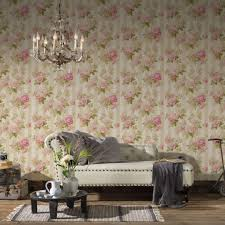 a s création tapete romantica 3 creme grau rosa