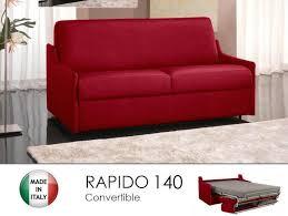 canapé rapido canape lit 3 places convertible ouverture rapido 140cm tweed