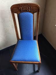einzelstücke esszimmerstühle neu gepolstert und bezogen