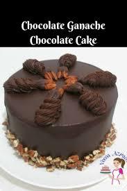 Storing Ganache covered cakes
