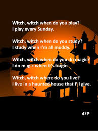 Poems About Halloween That Rhymes by Halloween Rhymes