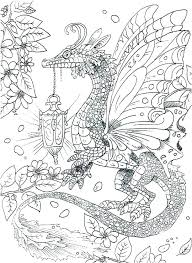 Real Dragon Coloring Pages Fire Breathing
