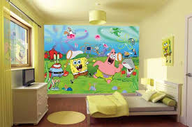 skills kids room spongebob squarepants bedroom decoration image