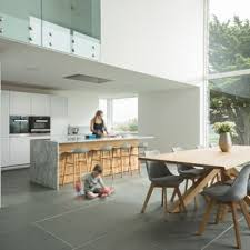 Large Contemporary Eat In Kitchen Photos