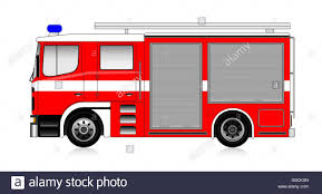 100 Big Red Fire Truck Big Red Firetruck Isolated On White Stock Photo 103541277 Alamy