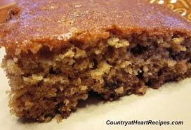 Country at Heart Recipes Applesauce Spice Cake