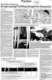 Mini Ice Age Chicago Tribune June 2 1975