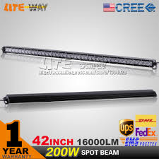 42INCH 200W CREE LED WORK LIGHT BAR SUPER SLIM SPOT BEAM FOR OFF ... Cheap Light Bars For Trucks 28 Images 12 Quot Off Road Led China Dual Row 6000k 36w Cheap Led Light Bars Jeep Truck Offroad 617xrfbqq8l_sl10_jpg Jpeg Image 10 986 Pixels Scaled 10 Inch Single Bar Black Oak Ebay 1 Year Review Youtube For Tow Trucks Best Resource 42inch 200w Cree Work Light Bar Super Slim Spot Beam For Off 145inch 60w With Hola Ring Controller Wire Bar Brackets Jeep Wrangler Amazing Led In Amazoncom Amber Cover Ozusa Dual Row 36w 72w 180w Suppliers And Flashing With Car 12v 24