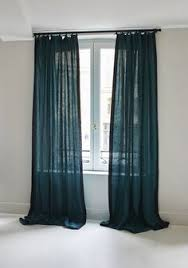 ikea 98 dark turquoise sanela curtains blackout grommet cotton