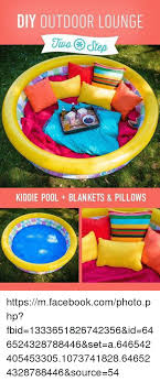 Facebook Memes And DIY OUTDOOR LOUNGIE Two Step KIDDIE POOL