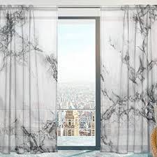 mnsruu fenster gardinen weiß marmor schwarz textur weiche