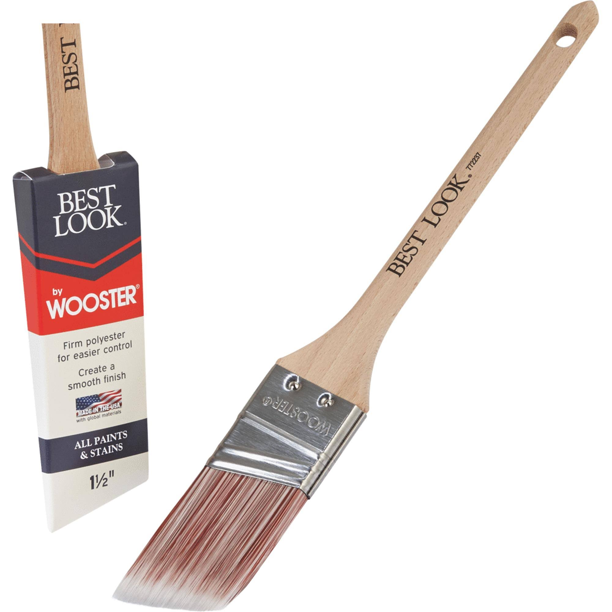 Best Look by Wooster Polyester Paint Brush - D4021-1 1/2