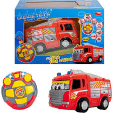 Dickie Toys Remote Control Happy Fire Truck | Cars, Trucks & Planes ... Rc Toy Fire Truck Lights Cannon Brigade Engine Vehicle Kids Romote Control Dickie Toys Intertional 24 Rescue Walmartcom Rc Model Fire Truck Action Stunning Rescue Trucks In Green Patrol Sos Brands Products Wwwdickietoysde Buy Generic Creative Abs 158 Mini With Remote For Cartrucky56 Car Kidirace Rechargeable 13 Best Giant Monster Toys Cars For Kids Youtube Watertank Red Vibali Shop