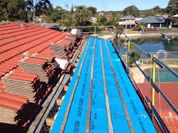installing sarking to an existing tile roof master roofing australia