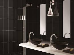Bathroom : Large Black Wall Tiles Bathroom Black And White Decor ... Grey White And Black Small Bathrooms Architectural Design Tub Colors Tile Home Pictures Wall Lowes Blue 32 Good Ideas And Pictures Of Modern Bathroom Tiles Texture Bathroom Designs Ideas For Minimalist Marble One Get All Floor Creative Decoration 20 Exquisite That Unleash The Beauty Interior Pretty Countertop 36 Extraordinary Will Inspire Some Effective Ewdinteriors 47 Flooring