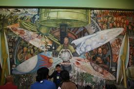 Diego Rivera Rockefeller Mural by Sippin Tequila With Diego My Trip To Mexico City And Oaxaca