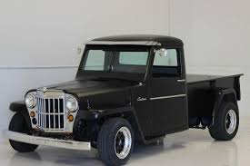 100 Jeep Willys Truck 1957 Willys Pickup No Reserve Custom Hot Rod Ratrod Rat Resto Mod