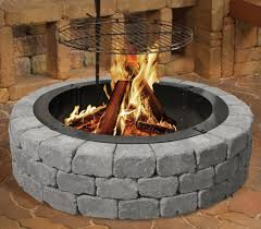 Menards Patio Block Edging by Enhance Your Outdoor Events With The Belgian Wedge Fire Ring Made