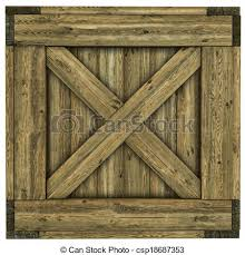 Wood Crate Stock Illustration