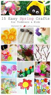 15 Easy Spring Crafts For Toddlers Kids
