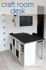 Free Plans To Build A Computer Desk by 12 Awesome Diy Craft Tables With Free Plans Shelterness