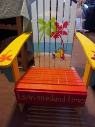 Custom Painted Margaritaville Adirondack Chairs by 76 Best Painting Images On Pinterest Beach Houses Jimmy Buffett