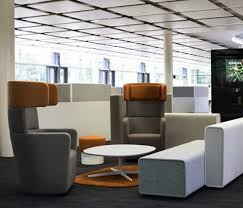 fice fice Furniture With White Bench And Modern Arnchairs