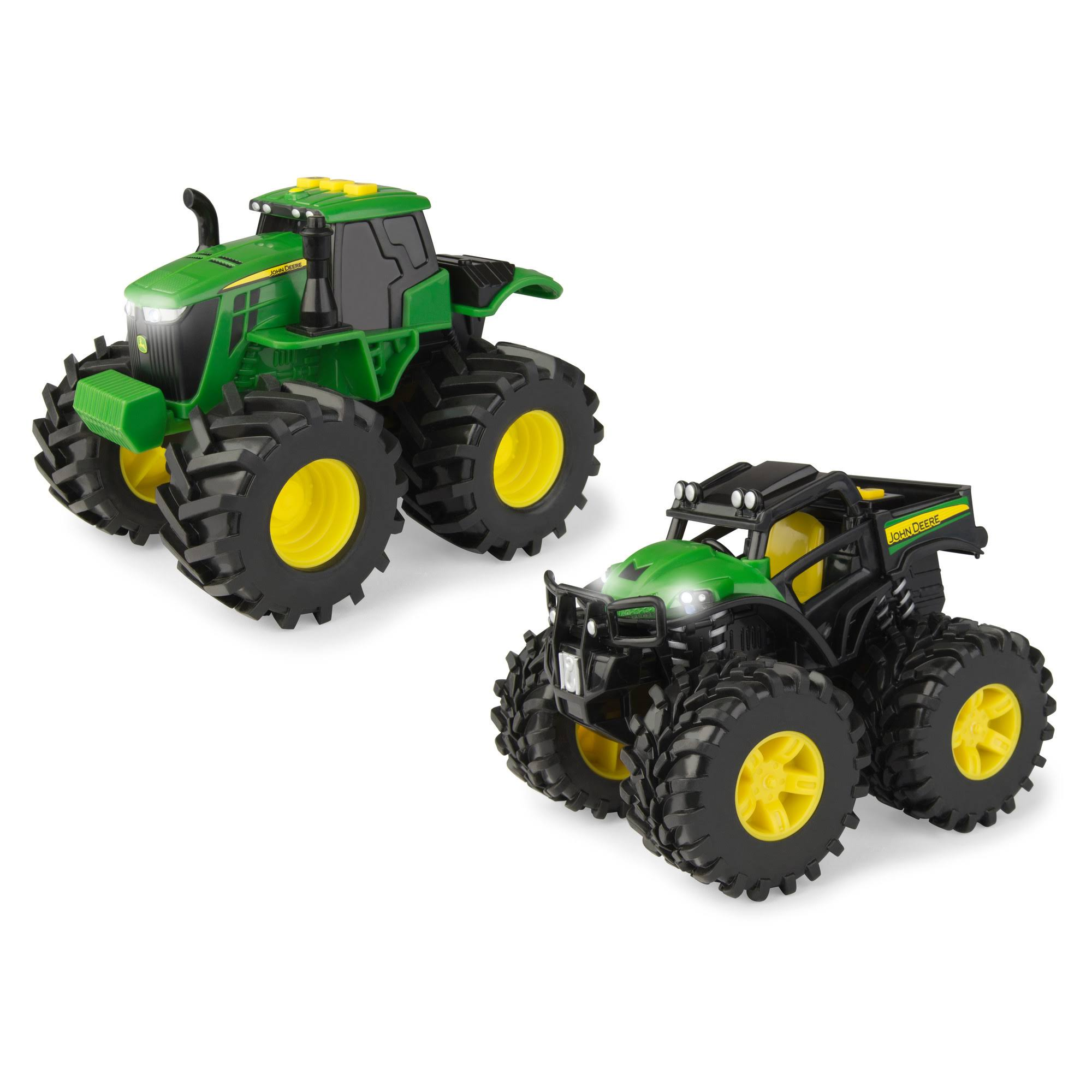 John Deere 2 Pack Monster Treads Lights and Sounds