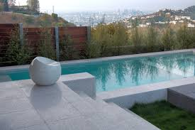 verona terrazzo modern swimming pool tub los angeles