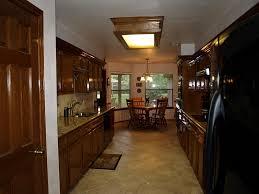 brilliant fluorescent kitchen light fixture pertaining to interior