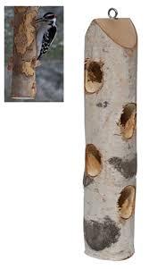 Duncraft Log Jammer White Birch Feeder