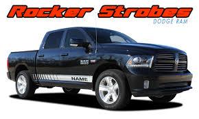 100 Ram Truck Decals ROCKER STROBES Dodge Stripes Vinyl Graphics