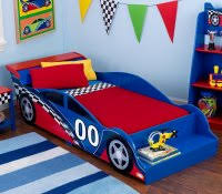 Lighting Mcqueen Toddler Bed by Disney Cars Bedroom Furniture 10pc Room Decor Box Unique Small