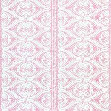 Rustic Alison Border Wallpaper Pink Yarrow