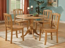 100 Round Oak Kitchen Table And Chairs 5PC ROUND DINETTE KITCHEN DINING SET TABLE AND 4 CHAIRS EBay Picture