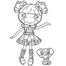 Lalaloopsy Coloring Pages