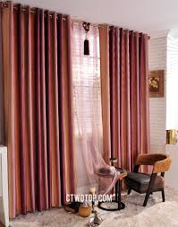 Fabric For Curtains Cheap by And Prange Striped Fabric Affordable French Door Curtains