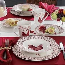 Tico Decorationskitchenwarehome Decor Gifts Decorations 16 Piece Rooster Dinnerware SetsRooster DecorRooster Kitchen