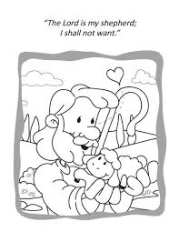 Psalm 23 For Kids Activities Coloring And Activity Book Icharacter Ltd