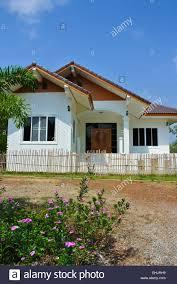100 Thai Modern House House Bungalow Land Stock Photo 79704277 Alamy