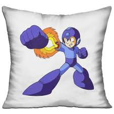Replacement Sofa Pillow Inserts by Sparkling Merry Rockman Megaman Decorative Throw Pillow Covers