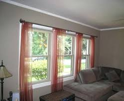 Curtain Windows Make The Most Of Your Living Room And Dining