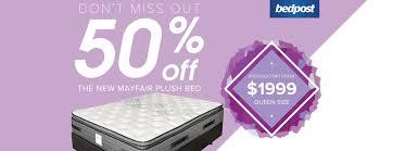 Bedpost New Zealand - Beds, Mattresses And Furniture Shop