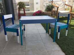 Ikea Hack - Easily Customise Your Kids Table And Chairs ... Ikea Mammut Kids Table And Chairs Mammut 2 Sells For 35 Origin Kritter Kids Table Chairs Fniture Tables Two High Quality Childrens Your Pixy Home 18 Diy Latt And Hacks Shelterness Set Of Sticker Designs Ikea Hackery Ikea